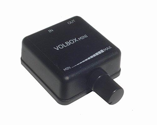 "Volbox inline audio volume control attenuator 3.5mm 1/8"" aux mini"