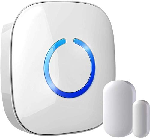 STARPOINT Expandable Wireless Doorbell Magnetic Mini Door Open Chime System - Base Starter Kit, 52...