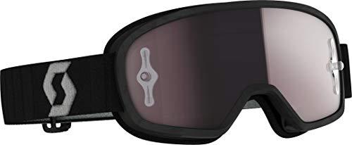 Scott Buzz Pro MX - Gafas de ciclismo para niño, color negro/gris/plateado