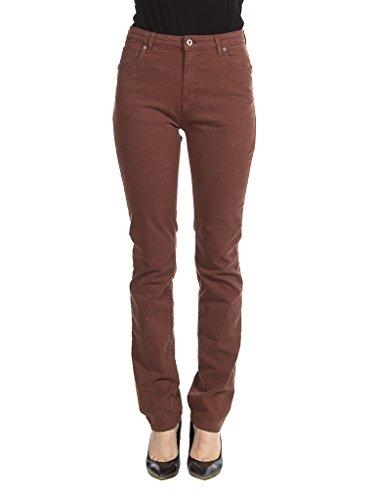 Carrera Jeans - Pantalón 753 para Mujer, Estilo Recto, Color Liso, Tejido Gabardina, Ajuste Regular, Cintura Alta