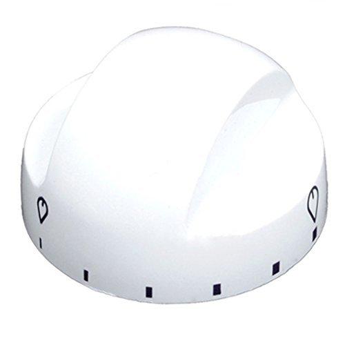 Zanussi Einstellknopf für Herd / Backofen (weißer Kunststoff)