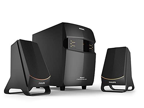 Philips Audio MMS2550B/94 Bluetooth Multimedia Speaker (Black)