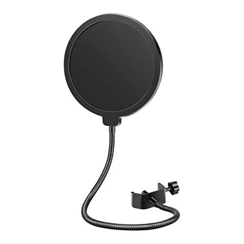 Neewer Professional Microphone Pop Filter Mask Shield Compatible with Blue Yeti and Any Other...