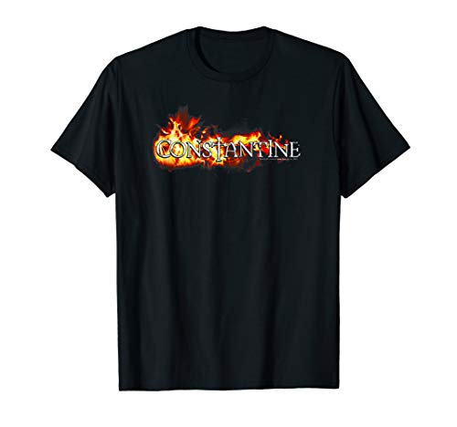 Constantine Logo in Flames T-Shirt