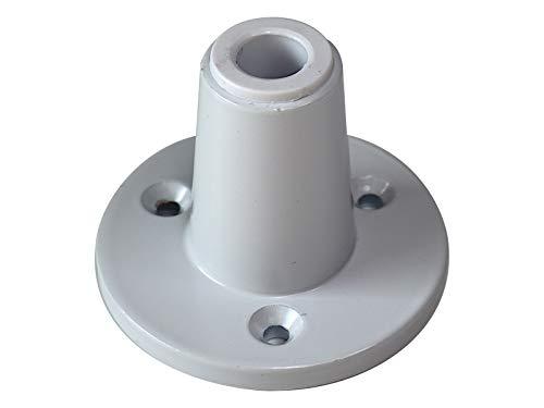 Komerci Tischhalterung KML-TH1 für Lupenleuchten und Arbeitsleuchten mit 12,5mm Stift Lupenleuchte Arbeitslampe