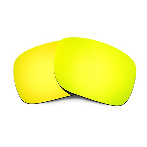 HKUCO HKUCO Mens Replacement Lenses For Oakley Holbrook Sunglasses 24K Gold Polarized