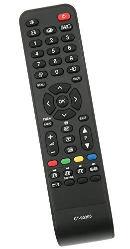 ALLIMITY CT-90300 75010737 Reemplace el control remoto por Toshiba REGZA LCD TV 75010737 19AV506DG 26AV505DG 32AV505 19AV505DG 26AV505D 32AV504DG 32AV505DB 32AV555D 32AV563D 37AV505D 42AV505D 46XV625D