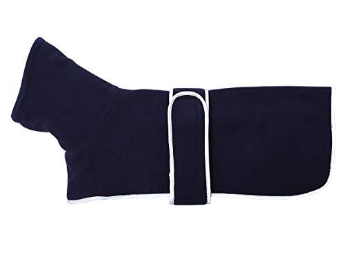 Geyecete Warmer Thermo-Hundemantel mit Dackel-Motiv, Warmer Fleece-Futter, für den Außenbereich, mit verstellbaren Bändern für kleine, mittelgroße und große Hunde - 2