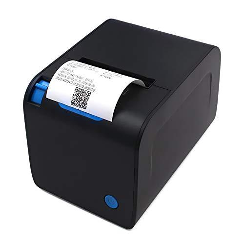 Aibecy Impresora térmica de recibos de 80 mm Impresora de cocina Corte automático Impresión de alta velocidad a 250 mm/s Compatible con Windows para supermercados Tienda Restaurante