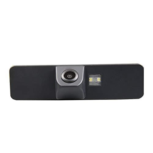 Telecamera di retromarcia HD 720p per monitor universali (RCA) (colore: nero) per Subaru Legacy 2009-2011