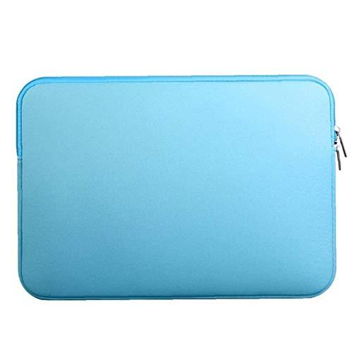 Yililay Laptop Sleeve Case Design Zipper Sac de Transport pour Mac 11inch-Book Air / Pro / Retina Bleu