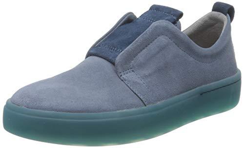 Think! Damen 686207_GRING Slip On Sneaker, Blau (Denim/Kombi 84), 41 EU
