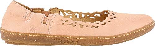 El Naturalista N5308 Pleasant Candy/Coral, ballerina's met gesloten punt voor dames