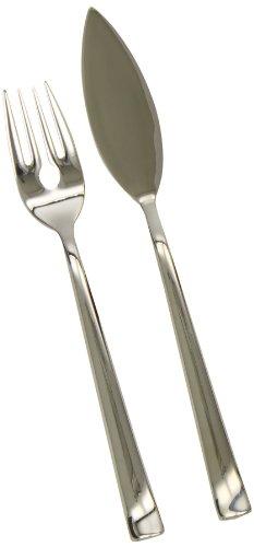 BSF Cult - Juego cubertería pescado 12 piezas, 6 tenedores + 6 palas