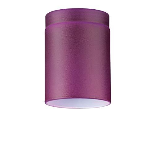 Paulmann lampenkap, glas, violet