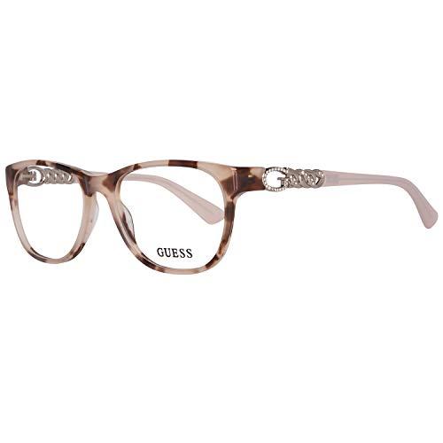 Guess Brillengestelle GU2559 52074 Wayfarer Brillengestelle 52, Beige
