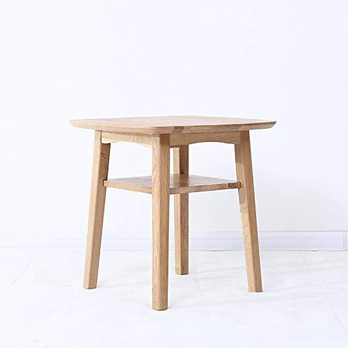 LILICEN LYJ Nordic Wood Edge, Bedroom Small Lamp Table Small Coffee Table Oak Small Table, Modern Minimalist Living Room Corner Small table