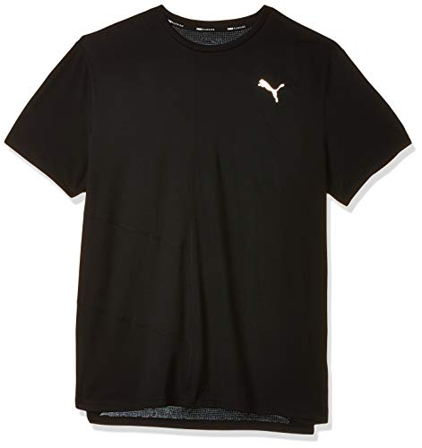 Puma Ignite S/S T-Shirt Homme, Black, FR : M (Taille Fabricant : M)