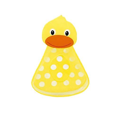 Baño Juguete De Almacenamiento De Baño Bolsa De Juguete del Baño del Bebé De Juguete Amarillo Pato Organizador Red con Ventosas Niños Mami