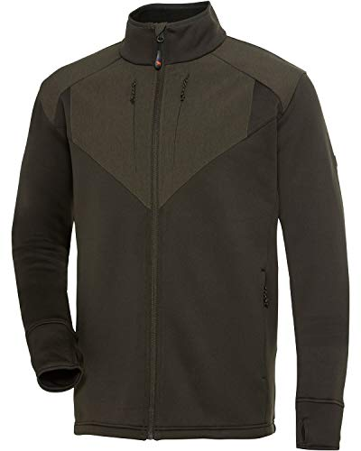 PARFORCE Powerstretch-Fleecejacke LMG Oliv XXL