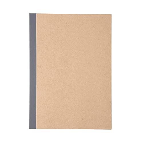 Muji Recycling Paper Notebook Ruled Beige, B5 (x10)