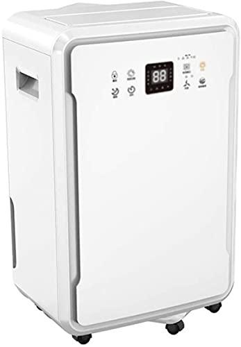 Deumidificatore deumidificatore familiare e commerciale, 60 l, deumidificatore silenzioso, adatto per 50-200 metri quadrati, può essere utilizzato in cantina, camera da letto, ufficio