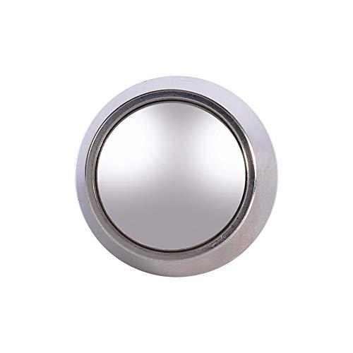 Interruptor de botón de encendido Qiilu Momentáneo Pulsador Interruptor de 12 mm IP65, IK08 impermeable diseño de arco plateado
