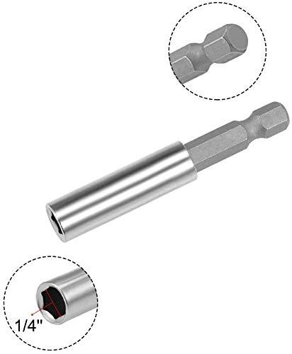 Thomegoods Drywall Screw Bits Setter Dimpler PH2 Magnetic Bit Holder for Plasterboard (10pcs)
