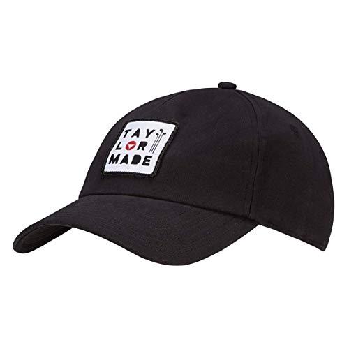 TaylorMade Herren TM 5 Panel Golf Cap, Schwarz, Einheitsgröße