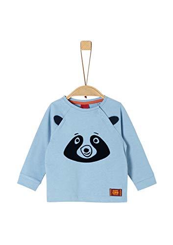 s.Oliver Baby-Jungen 65.909.31.8918 T-Shirt, Blau (Blue 5312), (Herstellergröße: 80)
