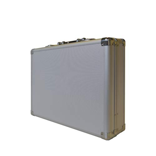 echoENG - Maletín porta herramientas técnico aluminio vacío profesional