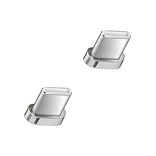 Tecster PRO magnetischer USB-C Wechsel - Adapter 12. Generation, kompatibel mit Android [2Stück]
