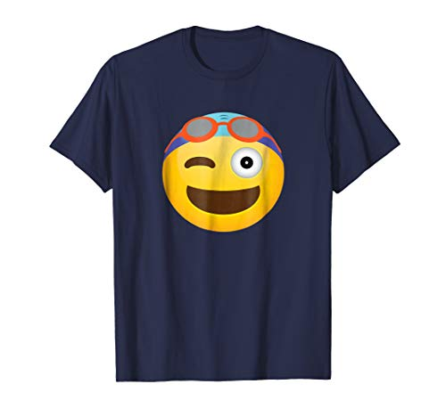 Two-Sided Winking Face Eat My Bubbles Swimmer Gift Shirt