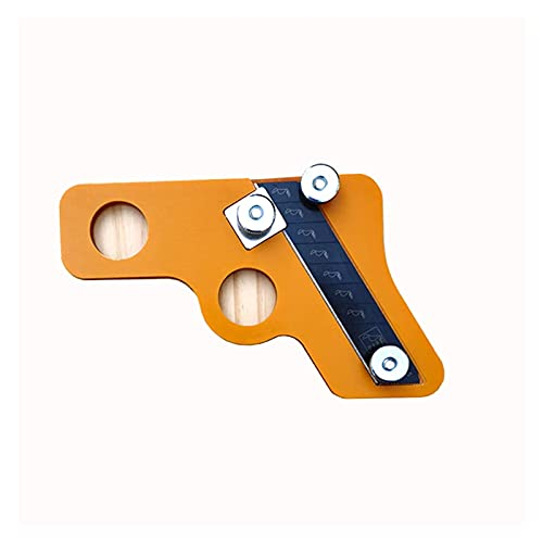 Hand Edge Trimmer Trimming Edge Sealing PVC Binding Strip Edge Banding Machine Woodworking Tools Can Sliding Replacement Blade (Color : 1 set)