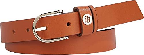 Tommy Hilfiger Classic Belt 2.5 Cinturón, Cognac, 75 para Mujer