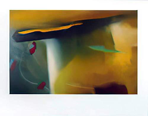 Kunstdruck/Poster: Gerhard Richter Abstraktes Bild - hochwertiger Druck, Bild, Kunstposter, 90x70 cm