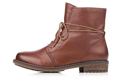 Remonte Damen R5072 Combat Boots, Braun (Chestnut/Chestnut 22), 43 EU