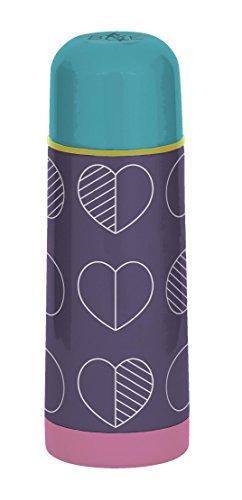 BEAU & ELLIOT Outline Vacuum Flask, Multi-Colour, 7x7x20 cm