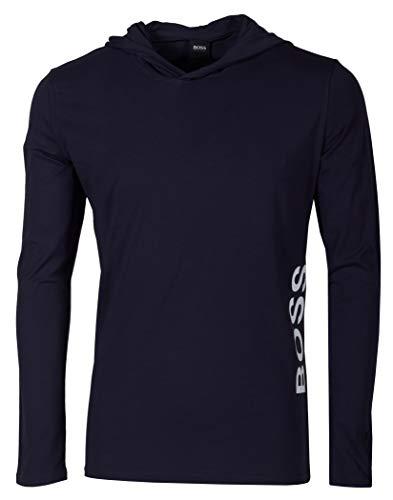 BOSS Herren Identity Ls-shirt H. Pyjamaoberteil, Dark Blue403, XL EU