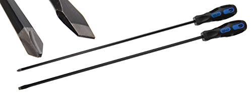 BGS 730 | Juego de destornilladores | extra largos | cruz PH / plano | 2 piezas