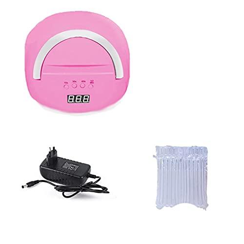 lámpara de uñas led Máquina de manicura 80W 4 0PCS / LEDS Lámpara de hielo para aceite de gel de secado 10/30/60/99S Temporizador Herramienta de inducción automática kit de esmalte de uñas de gel con
