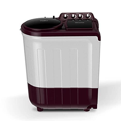 Whirlpool 7.5 kg Semi Automatic Top Load Red(SEMI AUTOMATIC ACE 7.5 SUP SOAK (5 YR) WINE 7.5 KG)