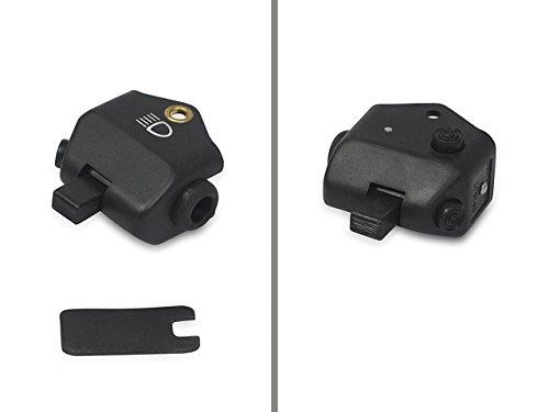 Abblendschalter schwarz mit Innenteil + Plastikkappe (mit Lichthupe) passend für S50, KR51, KR51/1, KR51/2