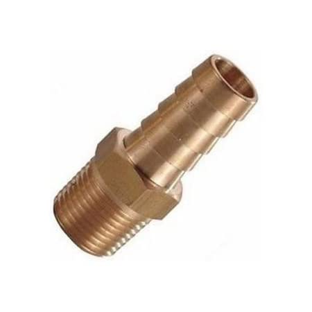"""i5 Fitting Metric M22 M22X1.5 Male to Barb Hose ID 1//2"""" 13mm Brass Fuel Air Gas"""