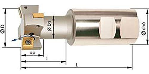 T-Nutenfräser m. IK. D 32mm Z 2