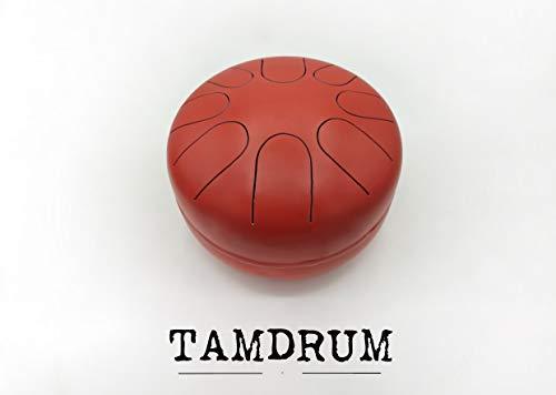 TAMdrum 8 notas escala MAYOR (Rojo Xina)