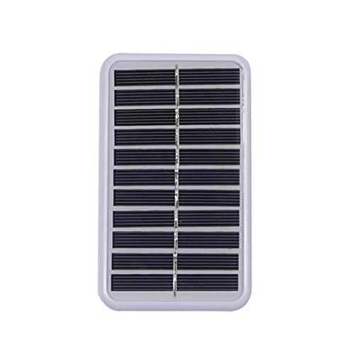 Mini ventilador de escritorio y mesa con batería recargable con energía solar recargable Ventilador de refrigeración personal para oficina en casa