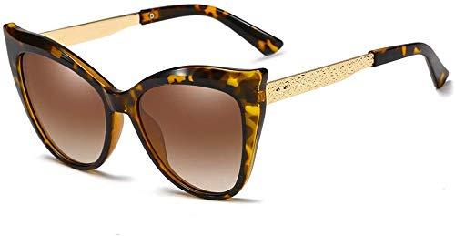 Gepolariseerde zonnebril, elegante zonnebril met gepolijste munt, frame van goud voor heren, UV400-bescherming, retro, zonnebril voor mannen, vrouwen, meisjes Blue