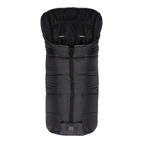 babycab Chancelière d'hiver Eco big pour poussette et poussette-canne accessoires pour poussette, noir