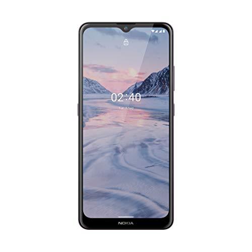 Nokia 2.4 Smartphone mit 6,5 Zoll HD+ Display, Portät- und Nachtmodus, Akku mit 2 Tage Laufzeit, Fingerabdrucksensor, robustes Design, Android 10 und Google-Assistant-Knopf, Dusk